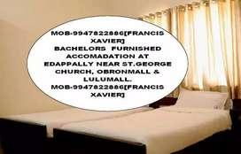 Bachelors Furnished Accomadation At Edappally Near Grandmall&Lulumall.
