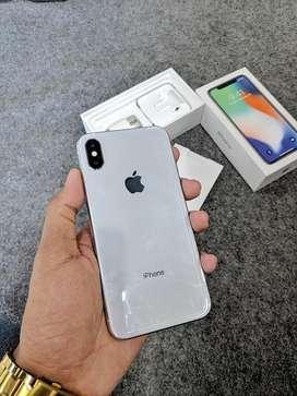 iphone x 256gb silver fullser ori