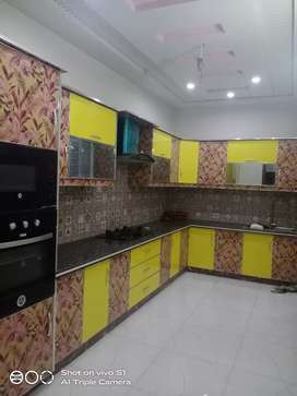 5 marla brand new lower portion for rent in Q block johar town lahore