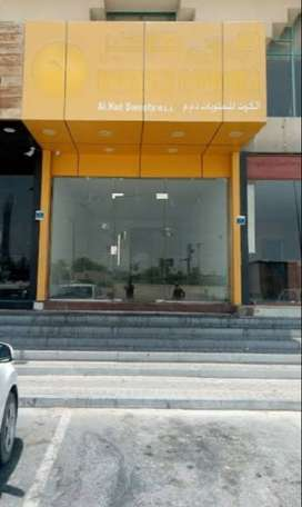 Well maintain shop for rent on Govind nagar main road at primelocation