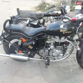 Very good condition in royale Enfield