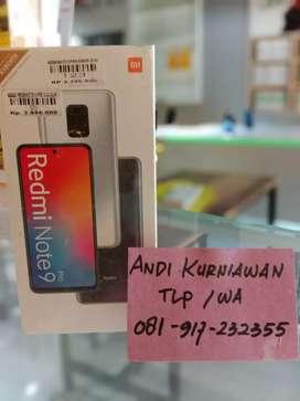 New redmi note 9pro ram 6/64gb