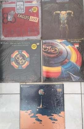 Jual Piringan Hitam (Vinyl) Eagles & ELO kondisi OK