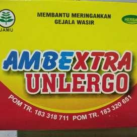 Ambextra paket herbal ambeien wasir alami