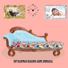 Sofa Santai Salur Jati Jepara