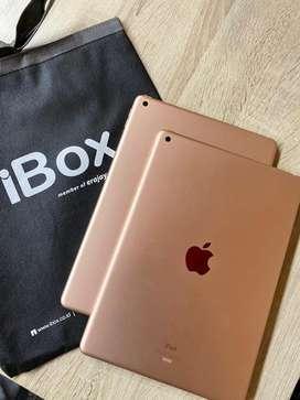 Ipad generasi 8 128gb rosegold ibox
