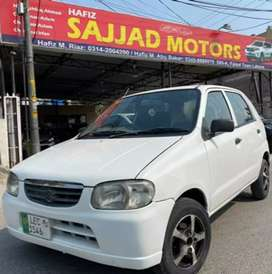 Suzuki Alto VXR Model 2007 Lahore Register