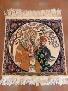 Pakistani handmade wall hanging carpets only 12,000