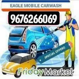 CAR WASHING AT YOUR DOOR STEP NEAR LB NAGAR