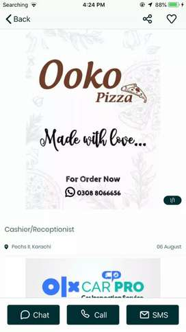 Chef Required for Pizza Restaurant