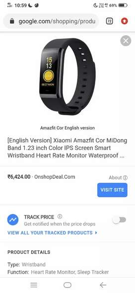 G-shock + amazfit cor xiaomi smart fitness band