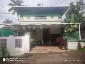 3 bedroom, car porch, work area, kitchen, sit out, tress work, 2