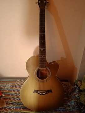 Westwood semi electric guitar