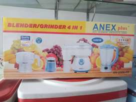 Anex plus Foofprocessors AN-0306 warranty 2years