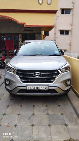 Hyundai Creta  2018 Petrol 9500 Km Driven and Top end car