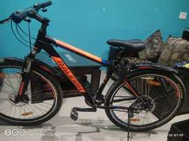 Raleigh 24 gear bicycle with brand new condition