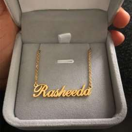 Customized name pendent