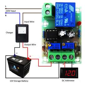 12V BATTERY INTELLIGENT AUTOMATIC CHARGING CONTROLLER BOARD XH-M601 AN