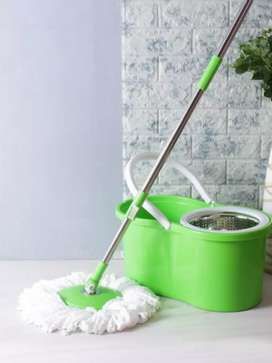 Original Spin Mop - Stainless Steel Material - Floor Cleaning System