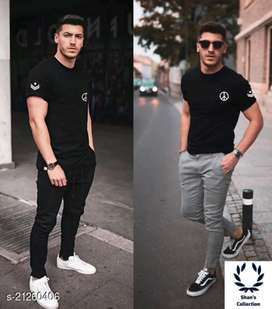 Urban fashion men's t-shirt's with short sleeves.