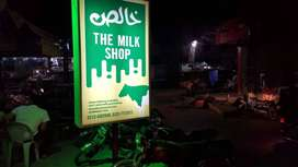 (Urgent)Running Milk Shop Business is to sell.