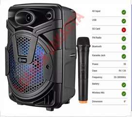 PROMO. PORTABEL SPIKER SALON AKTIF BLUETOOTH KARAOKE GMC MEETING