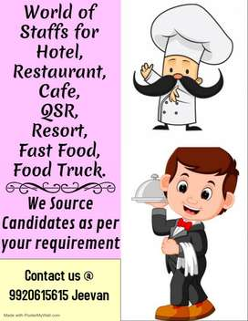 WE PROVIDE STAFFS IN HOTEL  INDUSTRY