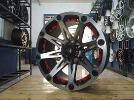 Velg mobil racing murah ring 20 HSR H6X139,7