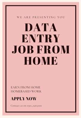 We want to hire someone who can do data entry job with us