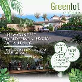 Rumah Villa Greenlot Residence Canggu Bali 2 Lantai Mewah Kuta Bali