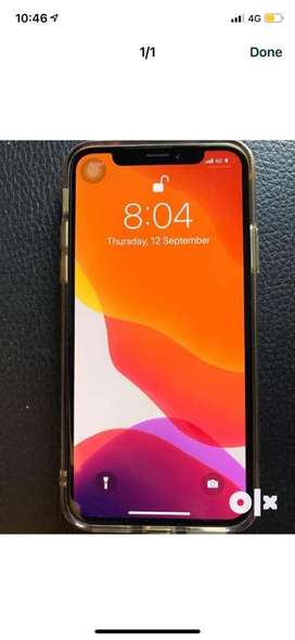 Iphone X 64gb super looking n condtion