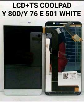 Lcd Touchscreen Coolpad Y 80D/ Y 76 E 501 White