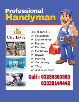 We Provide all kind of Maintenance Services