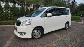 Toyota Nav1 V AT Putih 2013, Service Record,  cocok buat keluarga