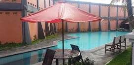 kost, kontrakan, hotel. apartement 3 kamar swiming pool fitness center