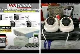 paket kamera cctv kumplit Full HD 2mp
