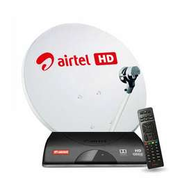 Buy Brand new Airtel High Definition box at 999 with 30days free pack