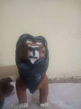 Lion King clay scar