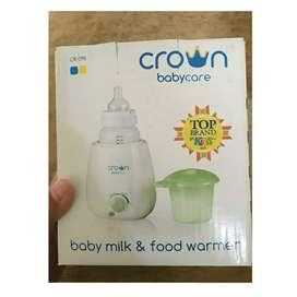 Baby crown penghangat asi dan mknan