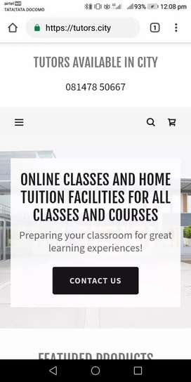 Home Tuition facility