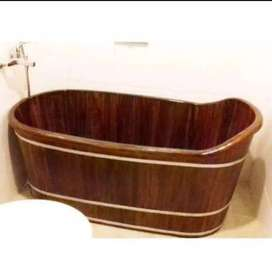 Wooden Bathub Ayu Nuansa Kuala Lumpur