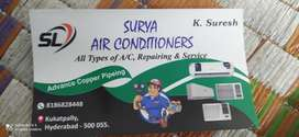 All service and repairs a/c works