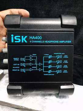 Headphone amplifier Isk Ha400