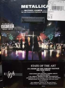 Dvd musik Metalica live