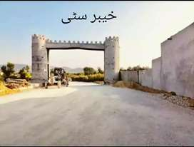 Khyber city 5 marla Plot available