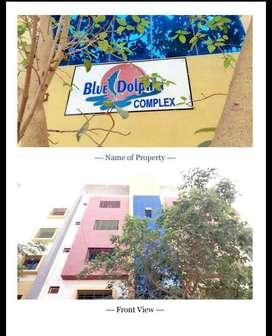 2bhk  brand new flat b/h  Sterling hospital Santosh park main Rd.