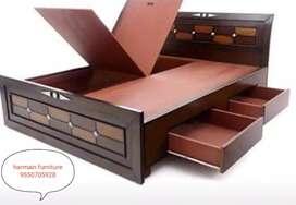 Brand new wholesale price teakwood cot