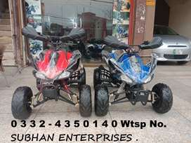 125cc Sports Raptor Atv Quad 4 Wheels Bike Online Deliver In All Pak