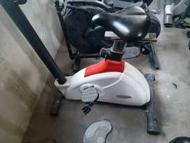 lifestyle magneric cycle red and white