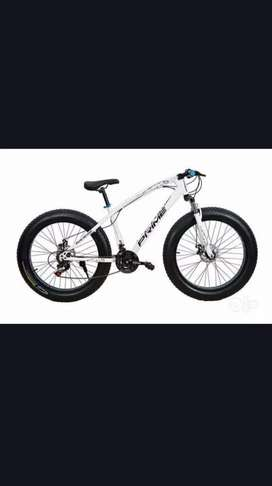 Fat Tyre Cycle New Sports Model 2020 21 Shimano Gears Hybrid